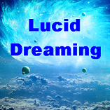 Lucid Dreaming Cosmic Clouds Blue